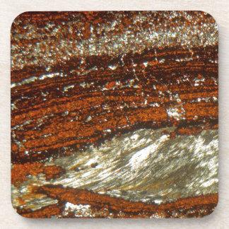Eisenerz unter dem Mikroskop Untersetzer