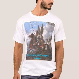 Eisenmänner mit den Flügeln der Adler T-Shirt