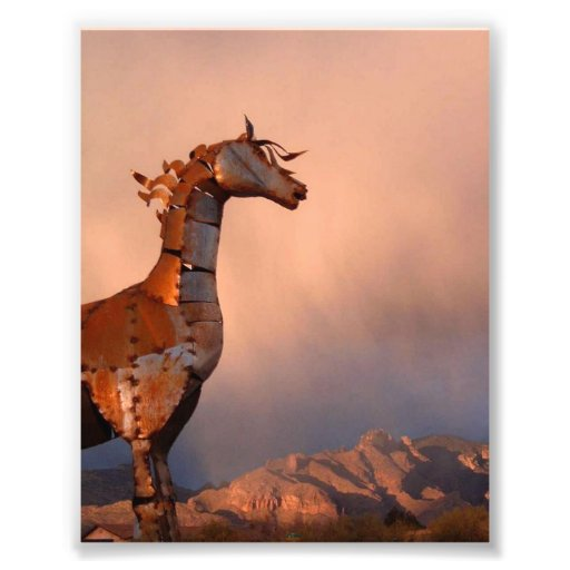 """""""Eisernes Pferd"""" #1 einer Reihe Kunst Photo"""