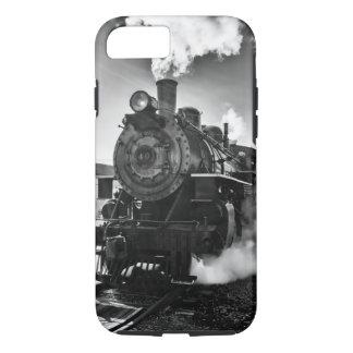 Eisernes Pferd - antiker Dampf-Zug iPhone 8/7 Hülle