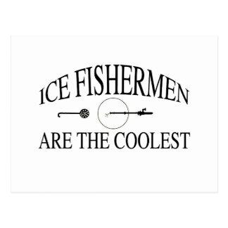 Eisfischer sind cool postkarten