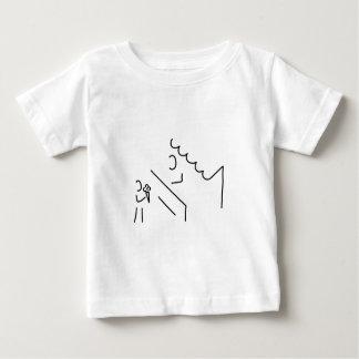 eishockey spieler eis baby t-shirt