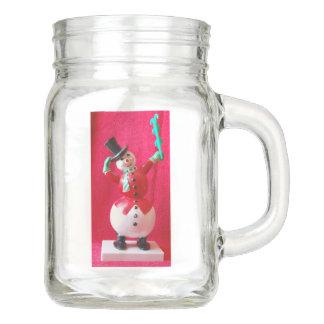 eisig der Schneemann Einmachglas