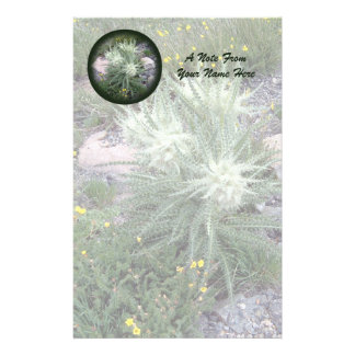 Eisiger Ball-alpine Wildblumen Briefpapier