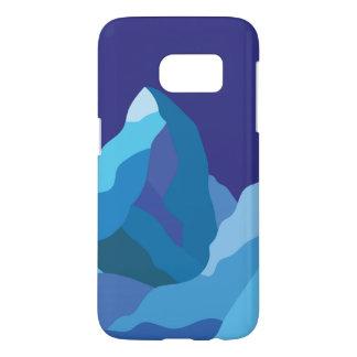Eisiger Winter Matterhorn-Berg