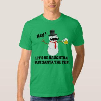 Eisiges Sein frech und Sankt eine Reise retten Hemden