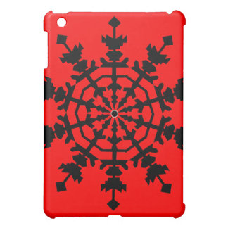 Eiskristall iPad Mini Hülle