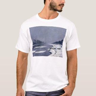 Eisschollen auf der Seine bei Bougival, c.1867-68 T-Shirt