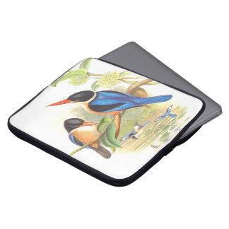 Eisvogel-Vogel-Tier-Tier-Teich Laptopschutzhülle