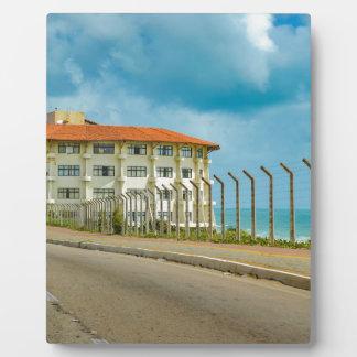 Eklektisches Art-Gebäude Geburts- Brasilien Fotoplatte