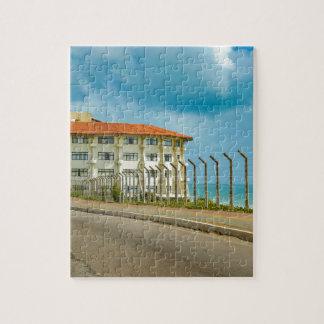 Eklektisches Art-Gebäude Geburts- Brasilien Puzzle
