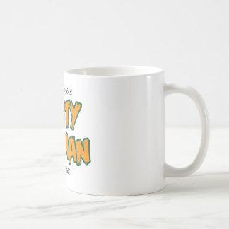 Eklige Frau Kaffeetasse