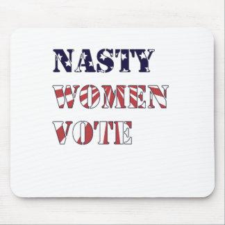 Eklige Frauen-Abstimmung Mauspads