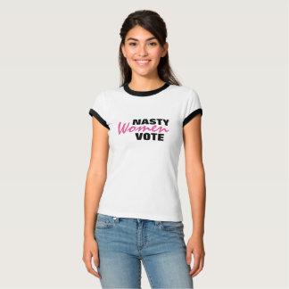 Eklige Frauen-Abstimmung T-Shirt