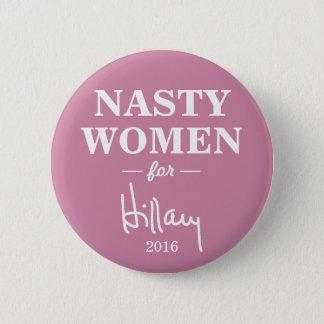 EKLIGE FRAUEN für Kampagnen-Knopf Hillary Clinton Runder Button 5,1 Cm