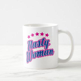 Eklige Frauen-Haltung Kaffeetasse