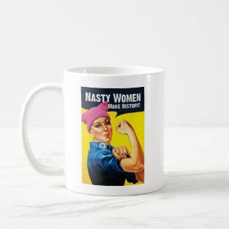 Eklige Frauen stellen GeschichtsTasse her Kaffeetasse