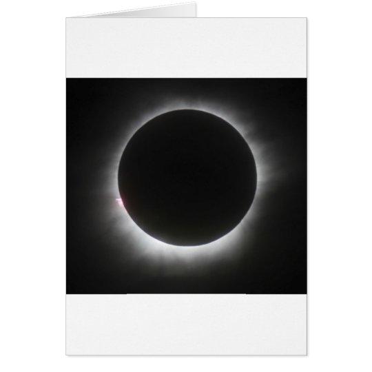 Eklipse Grußkarte