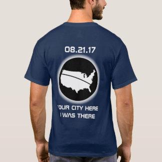 Eklipse - ICH WAR DORT - Ihre Stadt 08.21.17 T-Shirt
