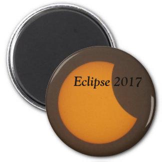 Eklipse-Magnet 2017 Runder Magnet 5,7 Cm