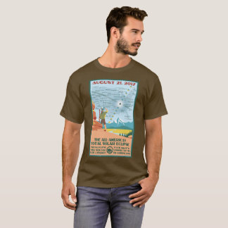 Eklipse-Shirt des Nationalparks T-Shirt