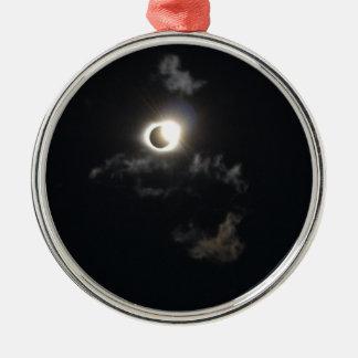 Eklipse Silbernes Ornament