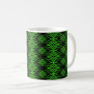 Eklipse-Tapete (Grün) Kaffeetasse