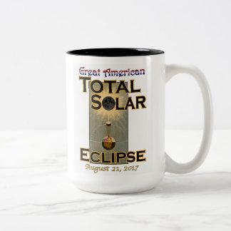 Eklipse-Tasse 15oz Zweifarbige Tasse