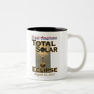 Eklipse-Tasse Zweifarbige Tasse