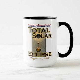 Eklipse-Tassen-Schwarz-Griff Tasse