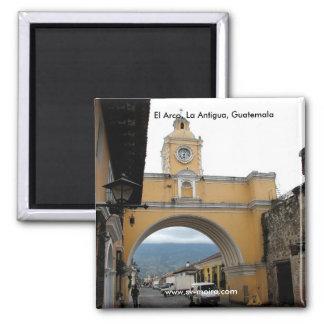 EL ACRO, La Antigua, Guatemala Quadratischer Magnet