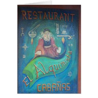 """""""EL Alquimista """" Karte"""
