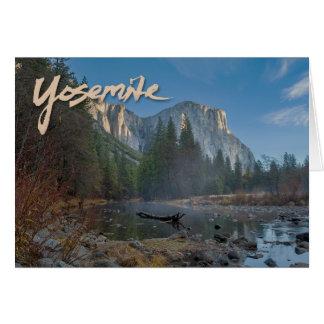 EL Capitan Yosemite Notecard Karte