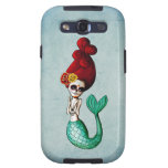 El Dia de Muertos Mermaid Galaxy SIII Etuis