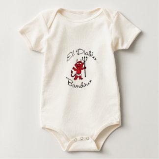 EL Diablo Bambino-Baby-Teufel Baby Strampler