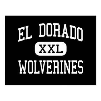 EL Dorado - Vielfrasse - hoch - Krämer Arizona Postkarte