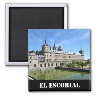 EL Escorial, Spanien Quadratischer Magnet
