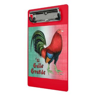 EL Gallo groß Mini Klemmbrett