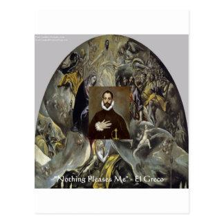"EL Greco ""Beerdigung der Gräfin"" Geschenke u. Postkarte"
