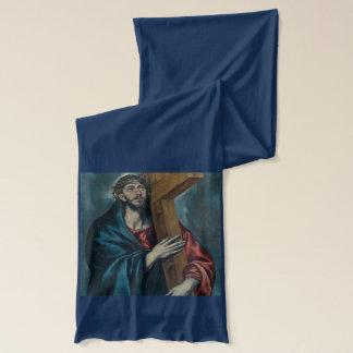 El Greco - Christus, die das Kreuz tragen Schal
