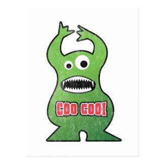 EL-Gurren Cooi - Monster Postkarte