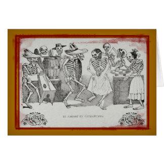 EL jarabe en ultratumba - Dia De Los Muertos Card Karte