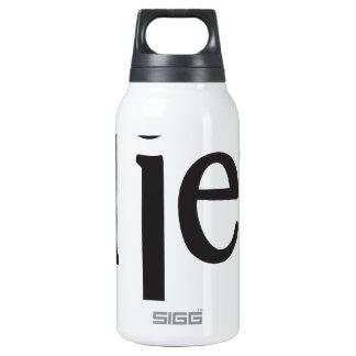"""EL jefe """"der Chef """" Isolierte Flasche"""
