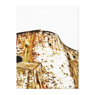 EL Morro, altes San Juan, Fotorezeptor - eingewick Leinwand Drucke