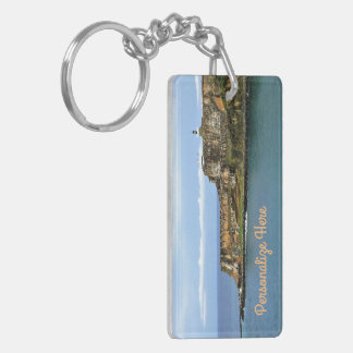 EL Morro, das San- Juanbucht personalisiert Schlüsselanhänger