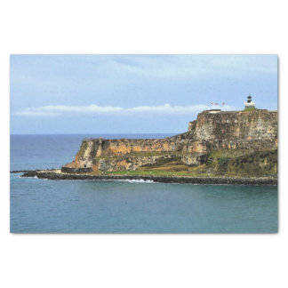 EL Morro, das San- Juanbucht schützt Seidenpapier