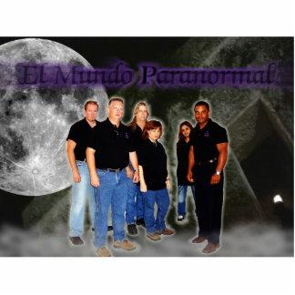 EL Mundo Paranormal Fernsehshow Freistehende Fotoskulptur