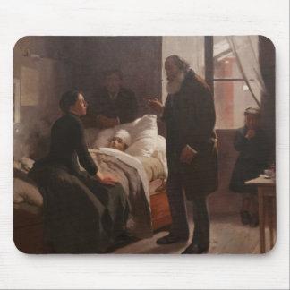 EL Niño enfermo durch Arturo Michelena 1886 Mauspads