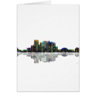 El Paso Texas Skyline Karte