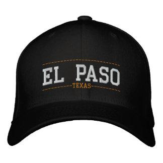 El Paso Texas USA stickte Hüte Bestickte Baseballmützen